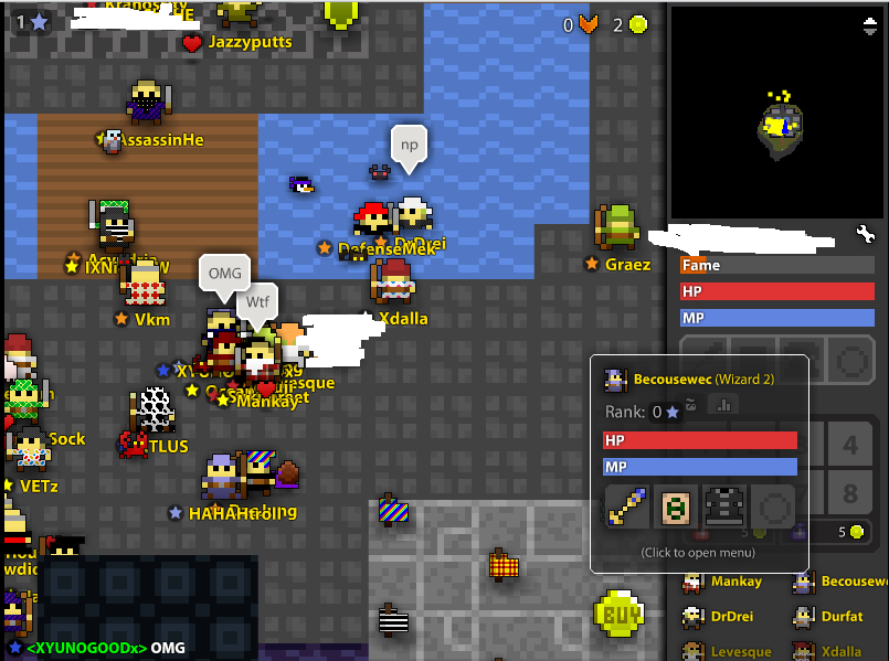 ROTMG Servers got hacked today  (Realm of the mad God) 11/04